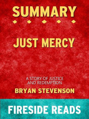 cover image of Summary of Just Mercy
