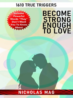 cover image of Become Strong Enough to Love