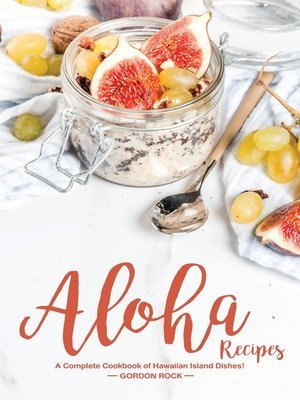 cover image of Aloha Recipes