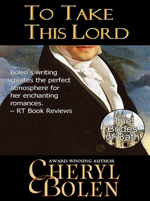 cover image of To Take This Lord (Brides of Bath Book 4)