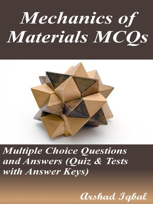 cover image of Mechanics of Materials MCQs