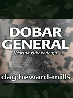 cover image of Dobar General