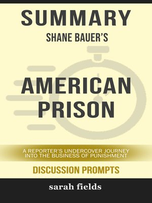cover image of Summary of American Prison