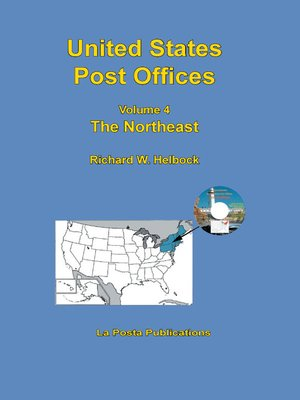 cover image of United States Post Offices Volume 4 the Northeast