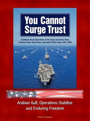 cover image of You Cannot Surge Trust