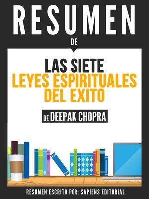 cover image of Las 7 Leyes Espirituales del Exito (The 7 Spiritual Laws of Success)