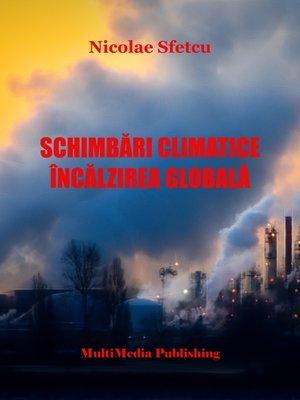 cover image of Schimbări climatice