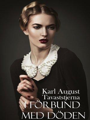 cover image of I förbund med döden