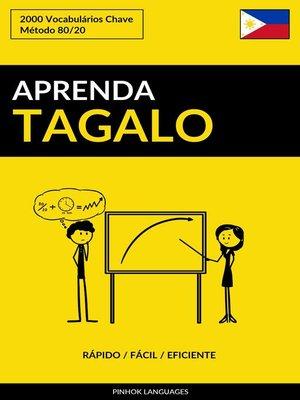 cover image of Aprenda Tagalo