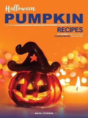 cover image of Halloween Pumpkin Recipes