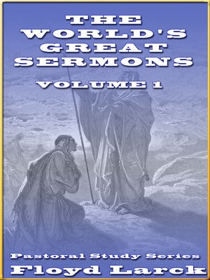 cover image of The World's Great Sermons, Volume I