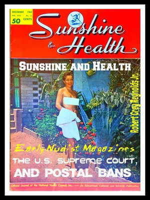 cover image of Sunshine and Health Early Nudist Magazines, the U.S. Supreme Court and Postal Bans