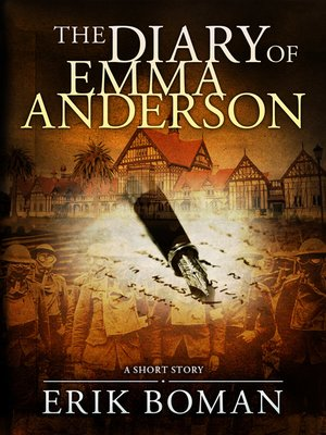 cover image of The Diary of Emma Anderson