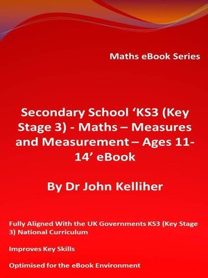 cover image of Secondary School 'KS3 (Key Stage 3) – Maths – Measures and Measurement – Ages 11-14' eBook