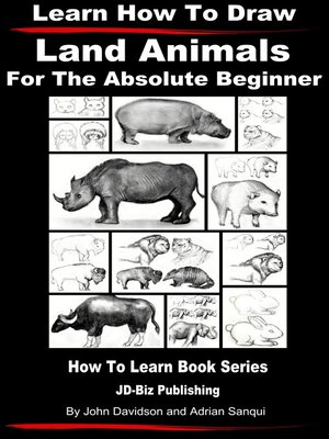 cover image of Learn How to Draw Land Animals