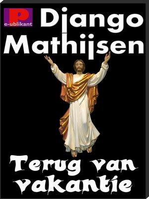 cover image of Terug van vakantie