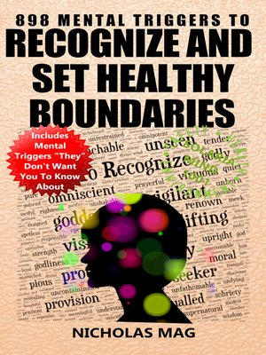 cover image of 898 Mental Triggers to Recognize and Set Healthy Boundaries