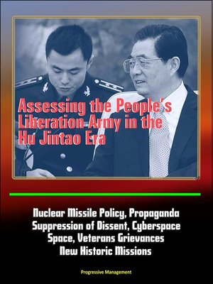cover image of Assessing the People's Liberation Army in the Hu Jintao Era