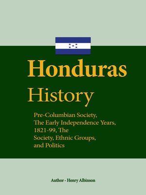 cover image of Honduras History
