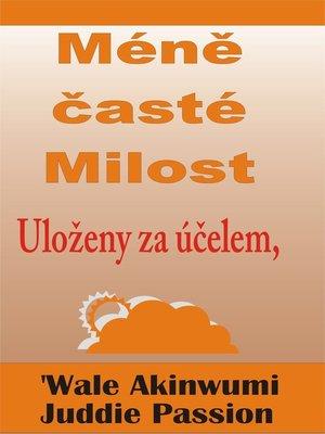 cover image of Méně časté Milost Uloženy za účelem,
