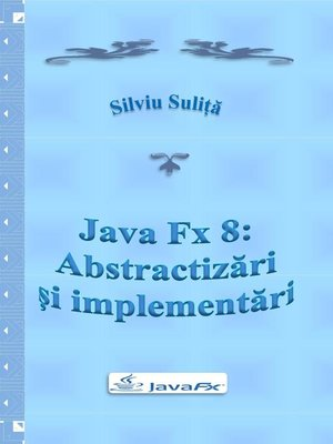 cover image of Java Fx 8