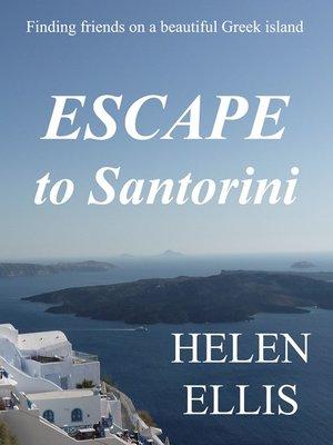 cover image of Escape to Santorini