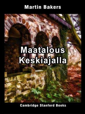cover image of Maatalous Keskiajalla