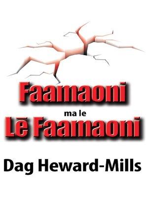 cover image of Faamaoni ma le Lē Faamaoni