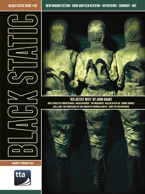 cover image of Black Static #38 Horror Magazine