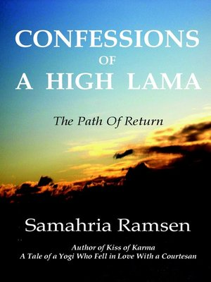 cover image of Confessions of a High Lama