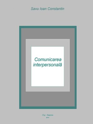 cover image of Comunicarea interpersonală