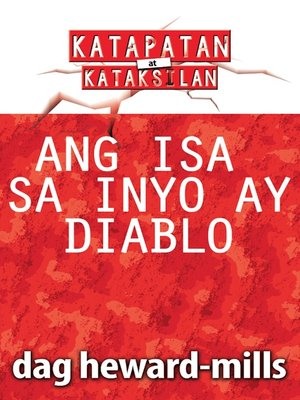 cover image of Ang Isa sa Inyo ay Diablo