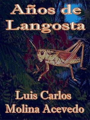 cover image of Años de Langosta