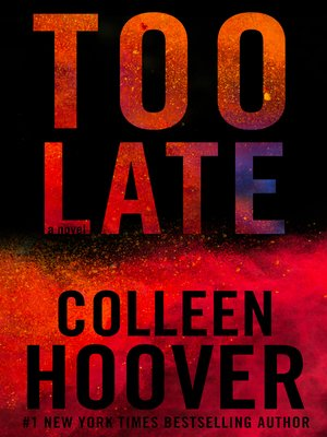 cover image of Too Late