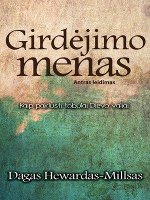 cover image of Girdėjimo menas