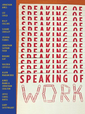 cover image of Speaking of Work