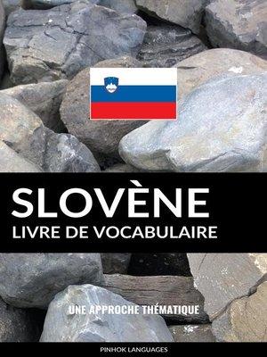 cover image of Livre de vocabulaire slovène