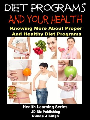 cover image of Diet Programs and your Health