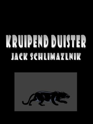 cover image of Kruipend duister