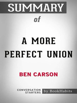 cover image of Summary of a More Perfect Union