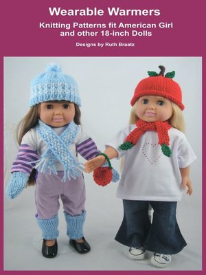 cover image of Wearable Warmers, Knitting Patterns fit American Girl and 18-Inch Dolls