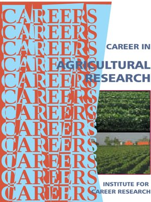 cover image of Career in Agricultural Research
