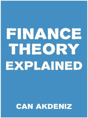 cover image of Finance Theory Explained