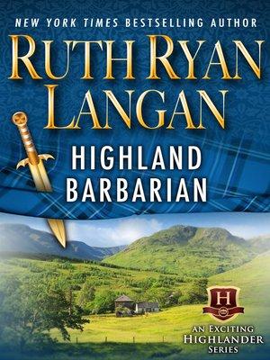 Highlanderseries overdrive rakuten overdrive ebooks cover image of highland barbarian fandeluxe Choice Image