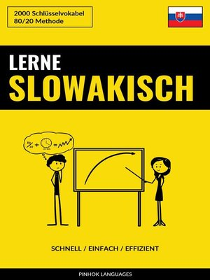 cover image of Lerne Slowakisch