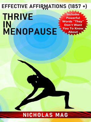 cover image of Effective Affirmations (1857 +) to Thrive in Menopause