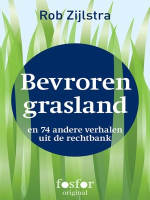 cover image of Bevroren grasland