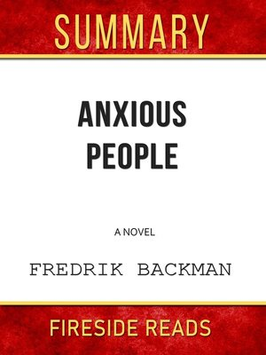 cover image of Summary of Anxious People