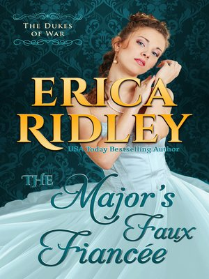 cover image of The Major's Faux Fiancee