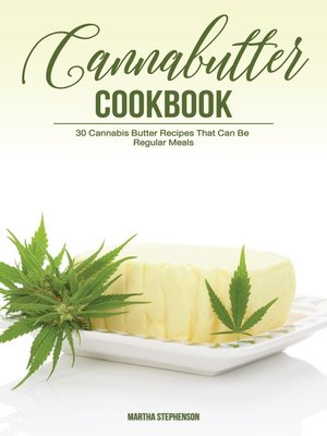 cover image of Cannabutter Cookbook